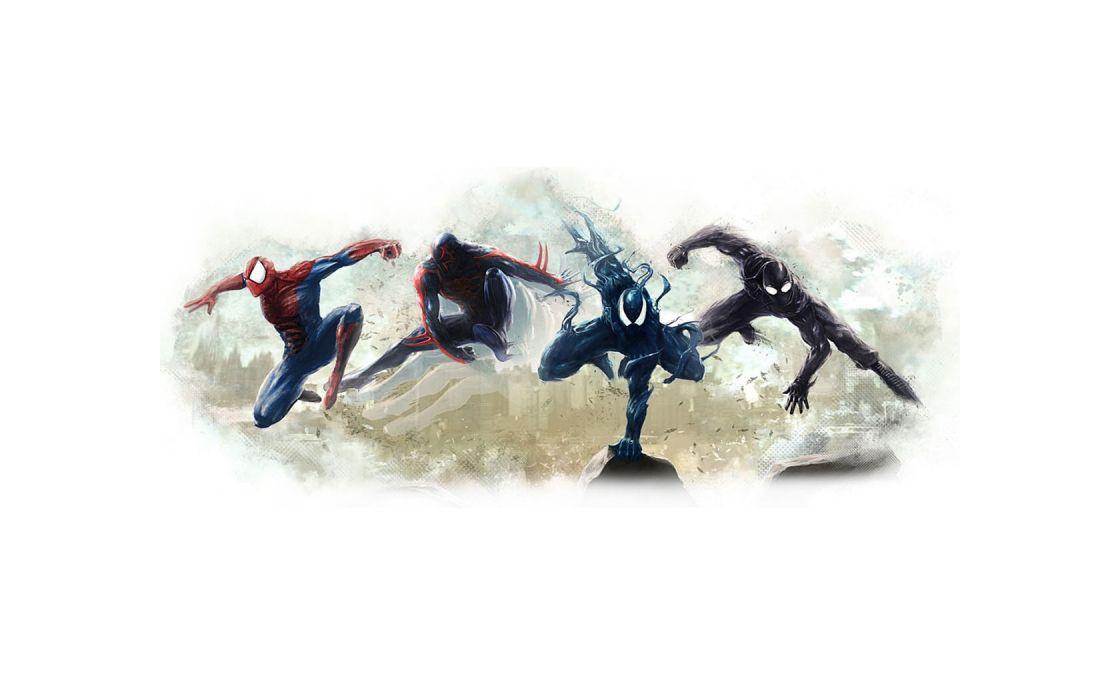 Spider-Man Marvel Black Drawing spiderman spider marvel wallpaper