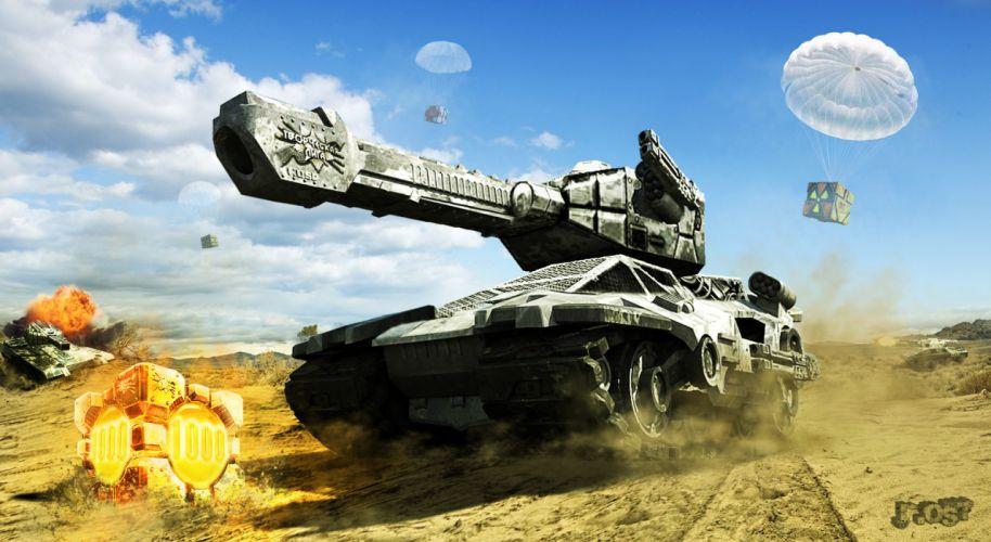 Tanks TANKI ONLINE wallpaper