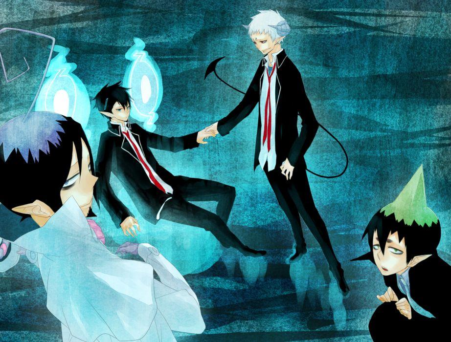 Ao no Exorcist Ao-no-Exorcist    w wallpaper