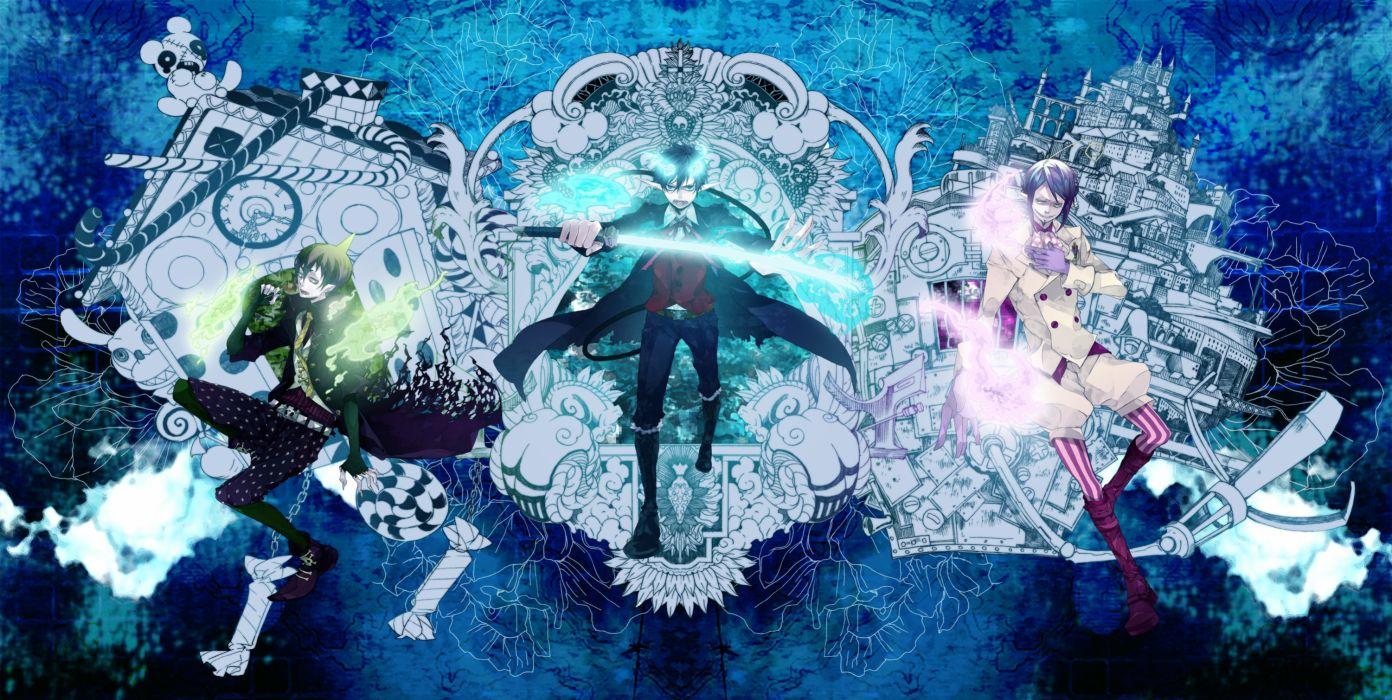 Ao no Exorcist Ao-no-Exorcist e wallpaper