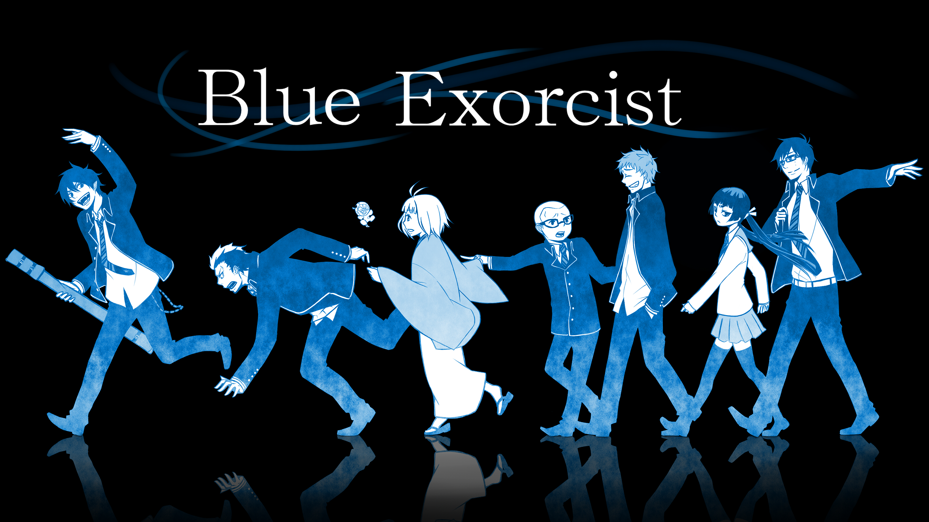 blue exorcist computer wallpapers - photo #13