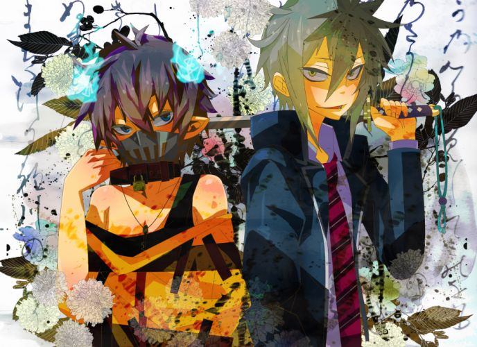 Ao no Exorcist Ao-no-Exorcist guilty crown wallpaper