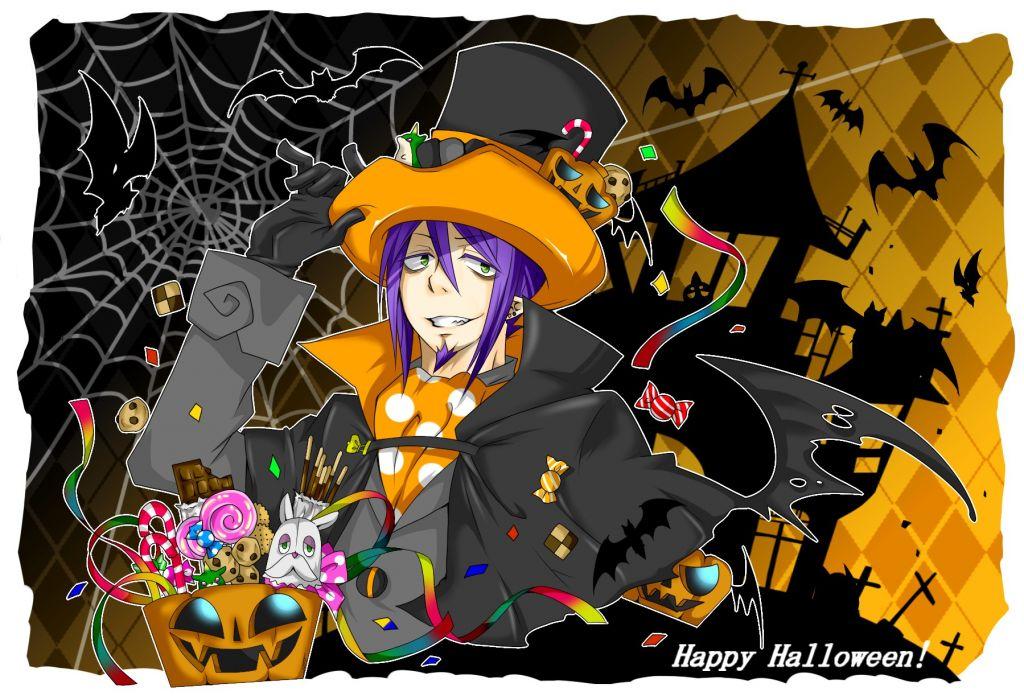 Ao no Exorcist Ao-no-Exorcist halloween b wallpaper