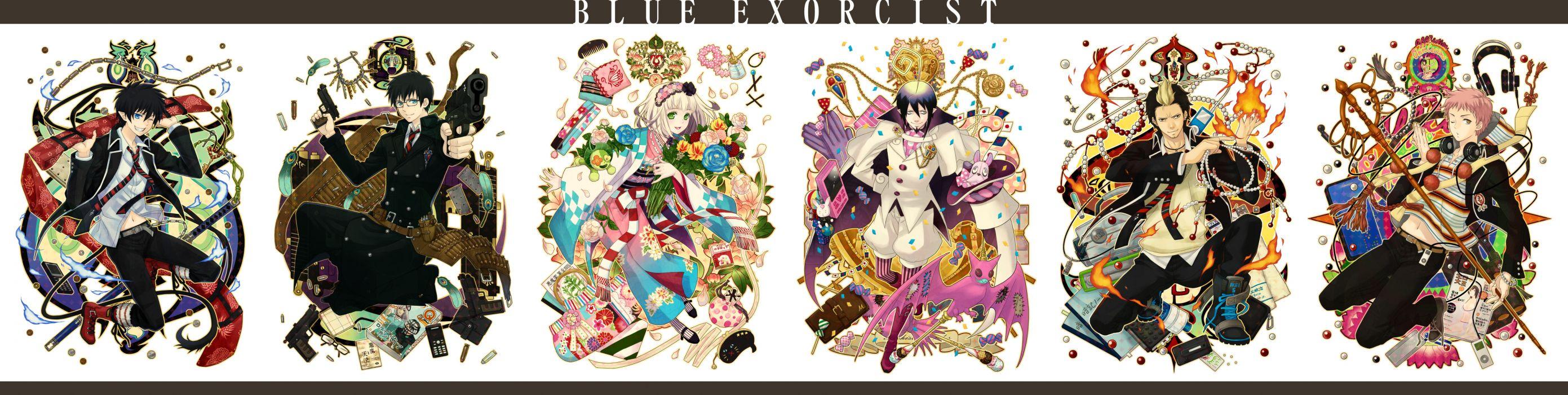 Ao no Exorcist Ao-no-Exorcist k wallpaper