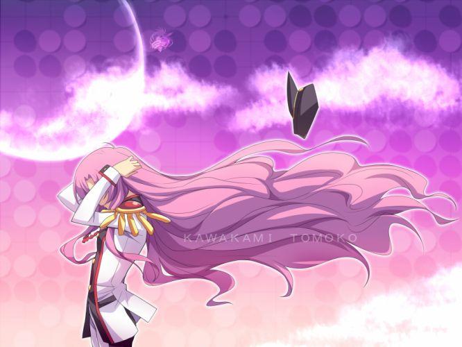 air hat kawakami tomoko long hair parody pink hair seifuku shoujo kakumei utena tenjou utena wallpaper