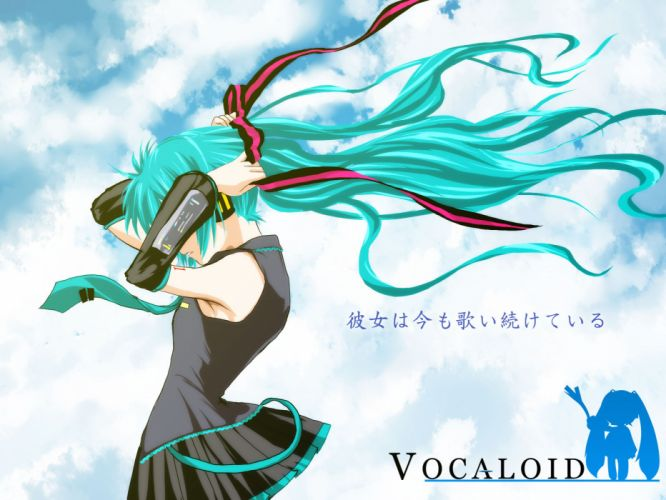 air hatsune miku kamio misuzu parody vocaloid wallpaper