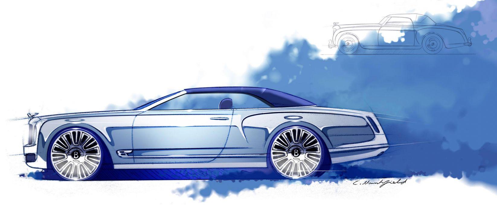 2012 Bentley Mulsanne Convertible Concept wallpaper