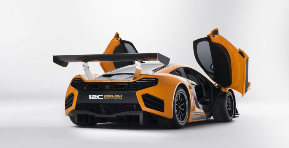 2012 McLaren 12C Can-Am Edition Racing Concept supercar supercars f wallpaper