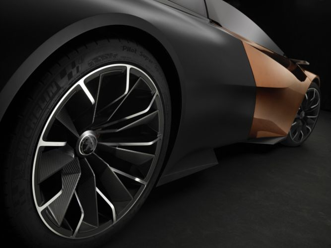 2012 Peugeot Onyx Concept supercars supercar d wallpaper