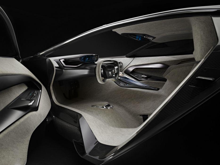 2012 Peugeot Onyx Concept supercars supercar interior wallpaper