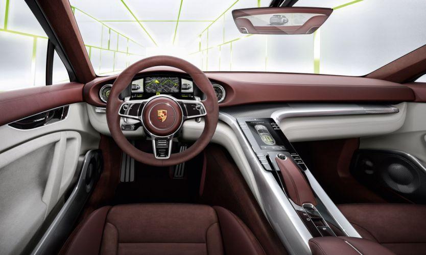2013 Porsche Panamera Sport Turismo Concept interior wallpaper