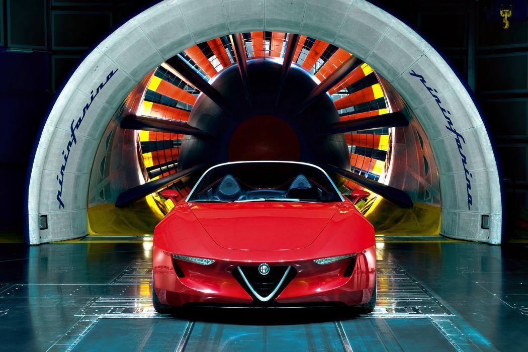 2011 Alfa Romeo 2uettottanta Concept supercar supercars f wallpaper