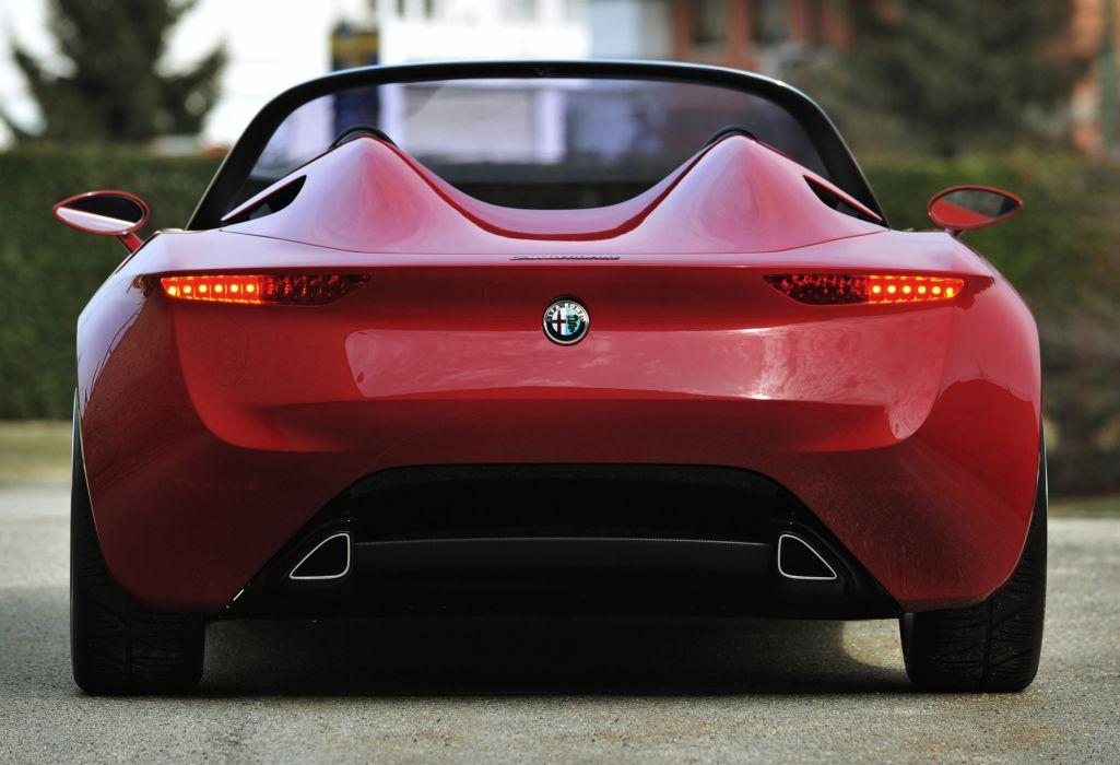 2011 Alfa Romeo 2uettottanta Concept supercar supercars q wallpaper