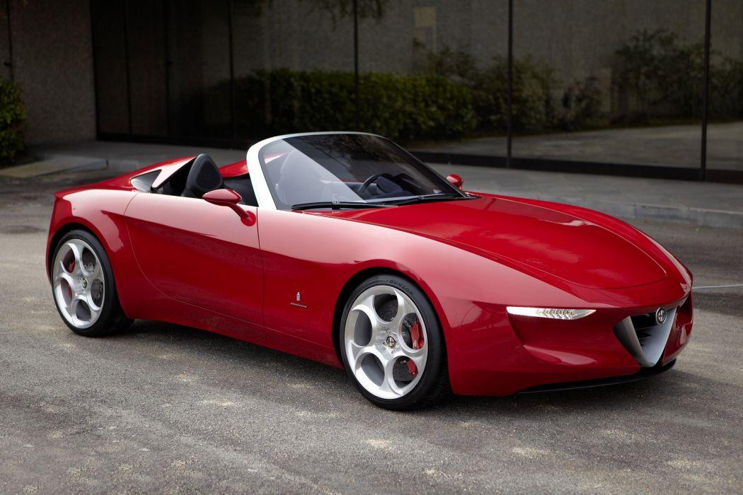 2011 Alfa Romeo 2uettottanta Concept supercar supercars r wallpaper