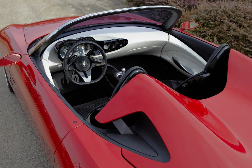 2011 Alfa Romeo 2uettottanta Concept supercar supercars w wallpaper
