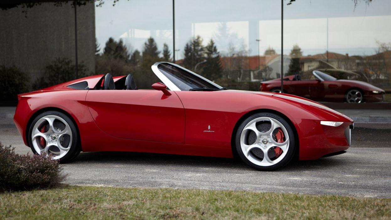 2011 Alfa Romeo 2uettottanta Concept supercar supercars y wallpaper