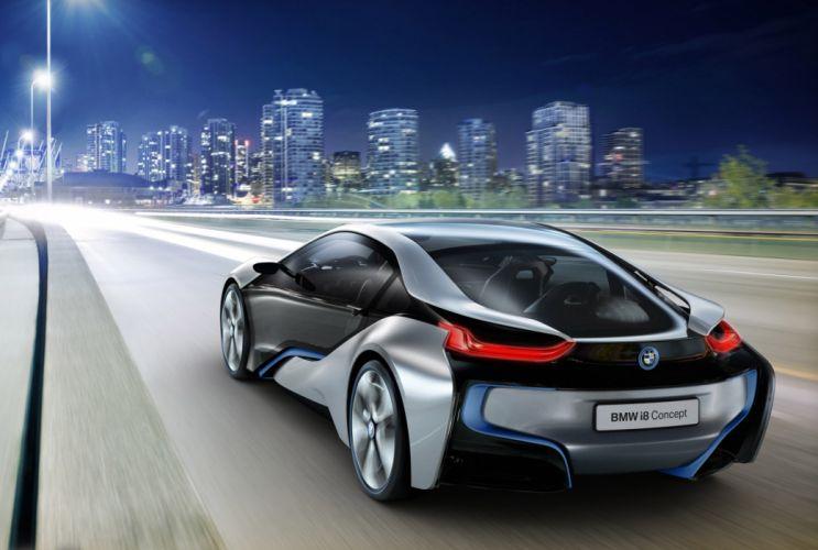2011 BMW i-8 Concept supercar supercars w wallpaper