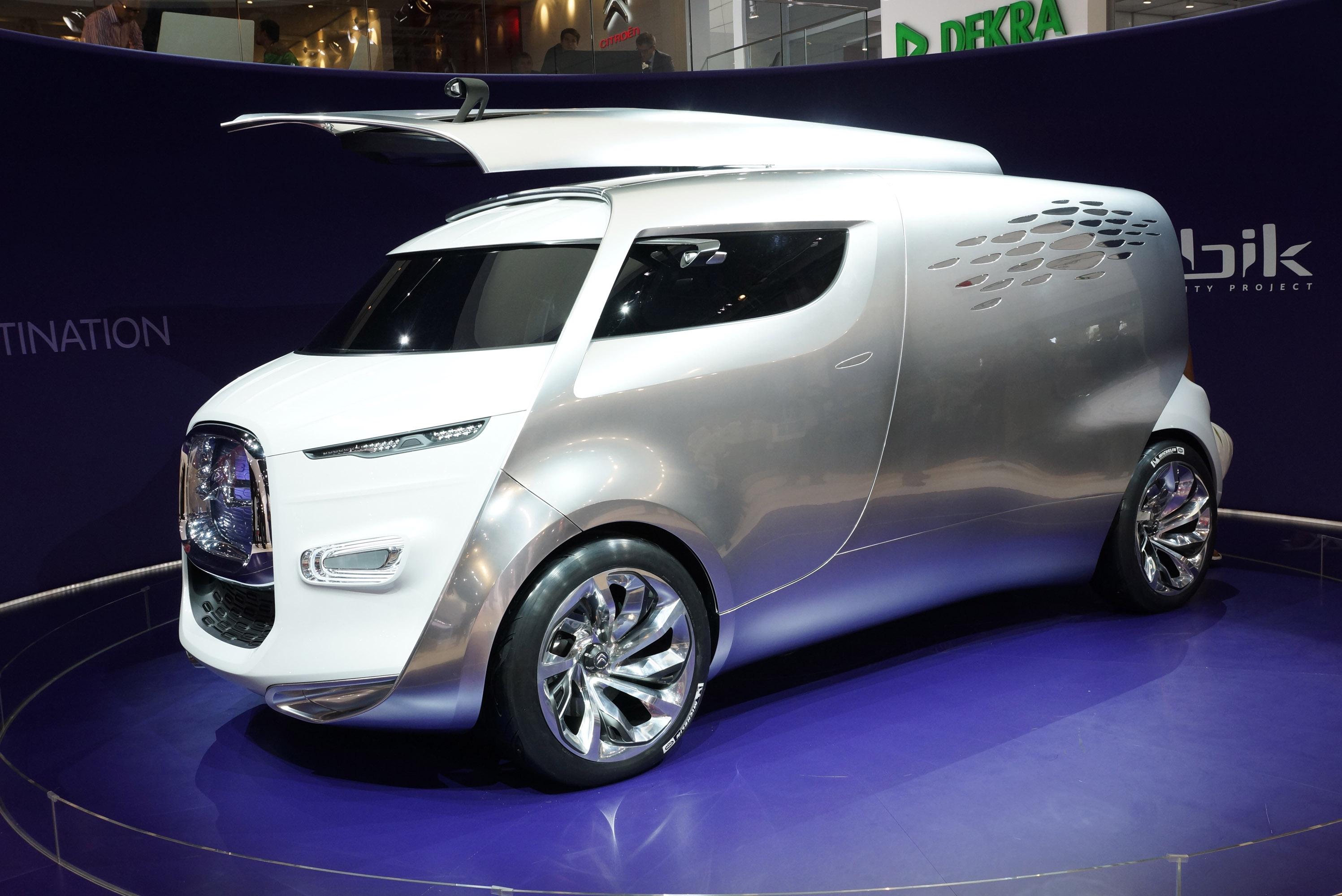 Citroen Tubik Concept Van Suv A Wallpaper
