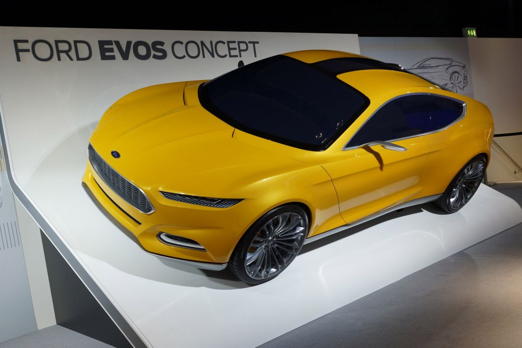2011 Ford Evos Concept   n wallpaper
