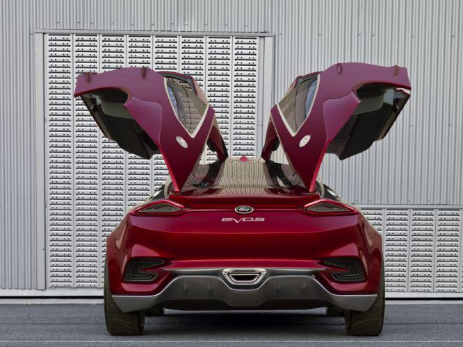 2011 Ford Evos Concept s wallpaper
