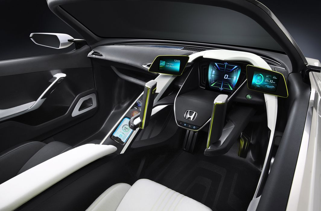2011 Honda EV-STER Concept interior dash steering wallpaper