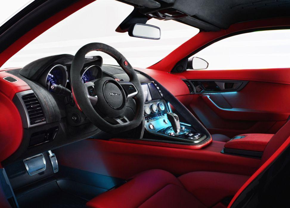 2011 Jaguar C-X16 concept supercar supercars interior wallpaper