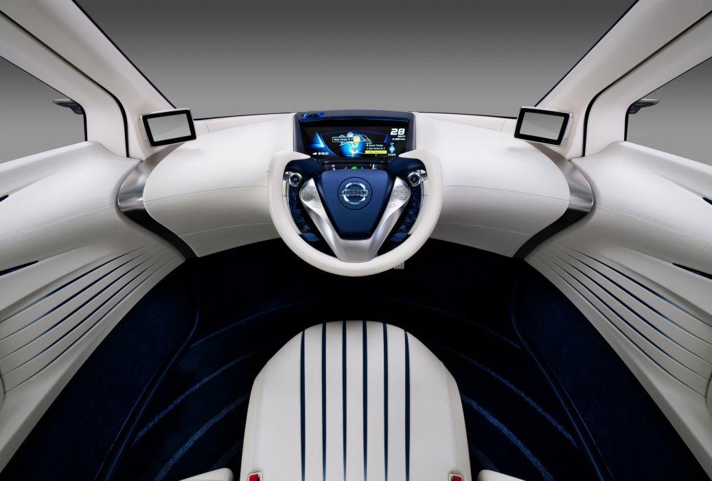 2011 Nissan Pivo 3 Concept Interior Dash Steering Wallpaper