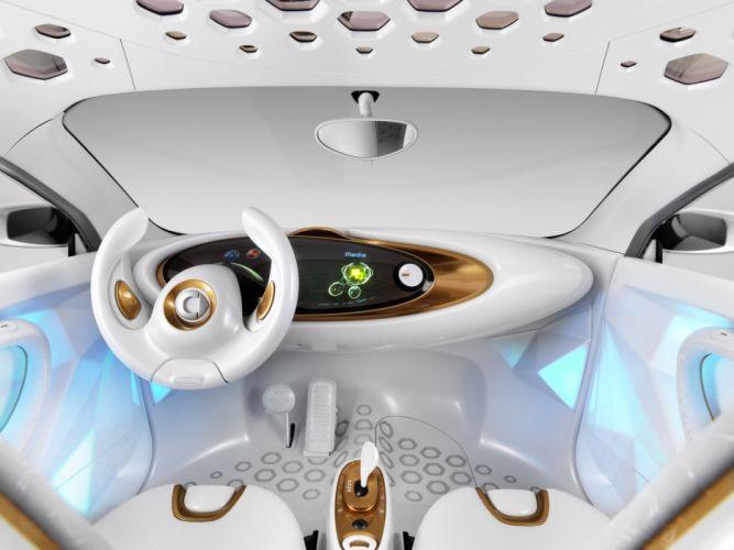 2011 Smart Forvision Concept interior dash steering wallpaper