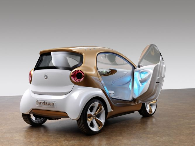 2011 Smart Forvision Concept w wallpaper