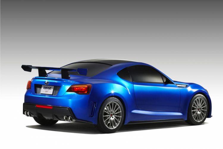 2011 Subaru BRZ STi Concept s wallpaper