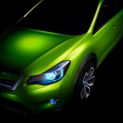 2011 Subaru X-V Concept f wallpaper