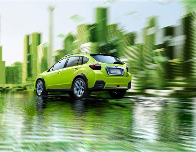 2011 Subaru X-V Concept r wallpaper