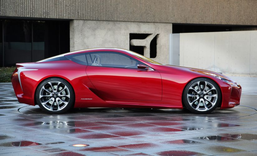 2012 Lexus LF-LC Sport Coupe Concept supercar supercars b wallpaper