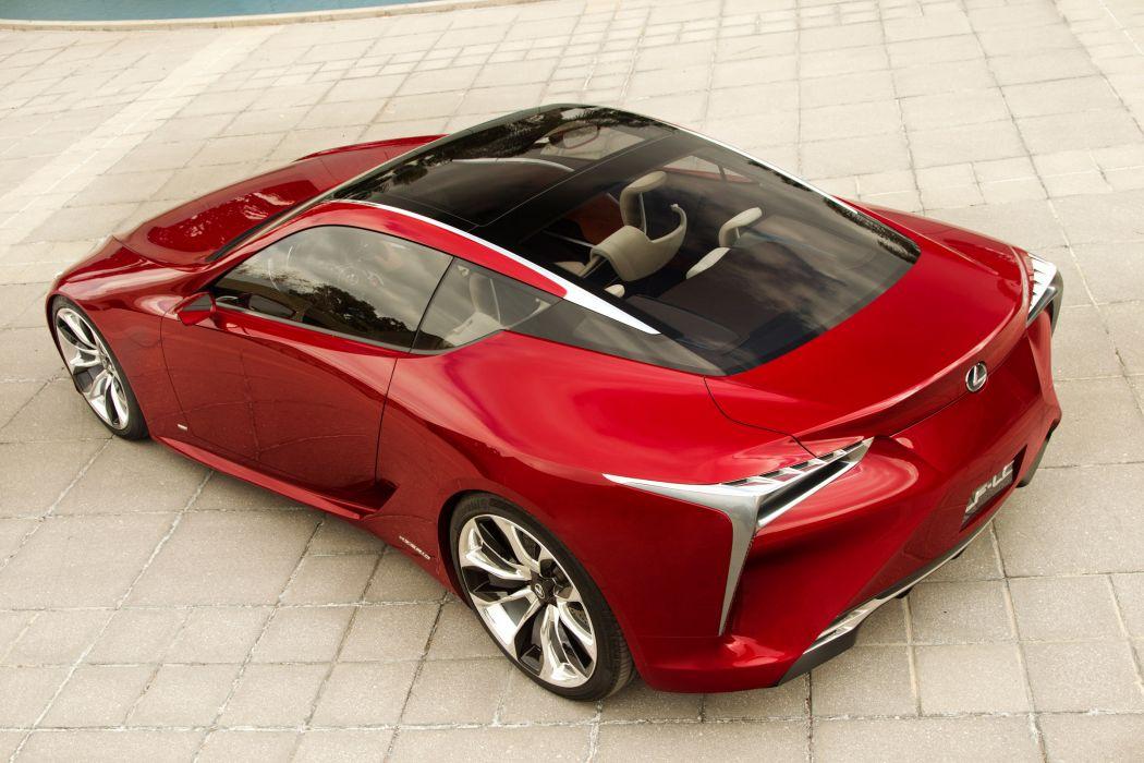 2012 Lexus LF-LC Sport Coupe Concept supercar supercars g wallpaper