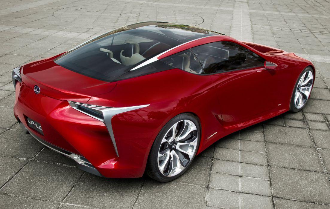 2012 Lexus LF-LC Sport Coupe Concept supercar supercars h wallpaper