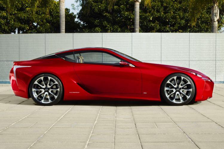 2012 Lexus LF-LC Sport Coupe Concept supercar supercars q wallpaper