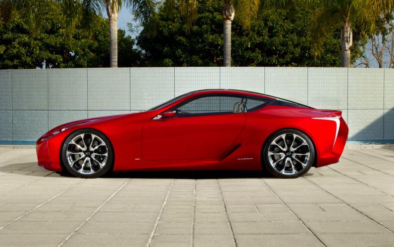 2012 Lexus LF-LC Sport Coupe Concept supercar supercars s wallpaper