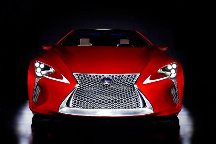 2012 Lexus LF-LC Sport Coupe Concept supercar supercars t wallpaper