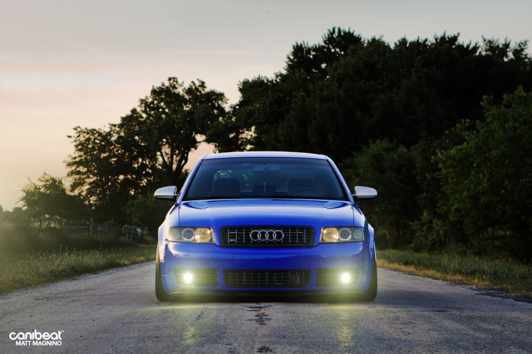 Audi S-4 tuning stance e wallpaper