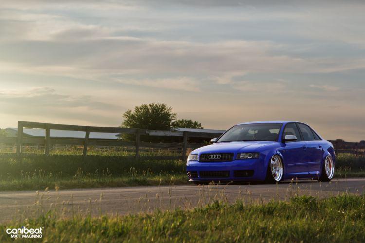 Audi S-4 tuning stance f wallpaper