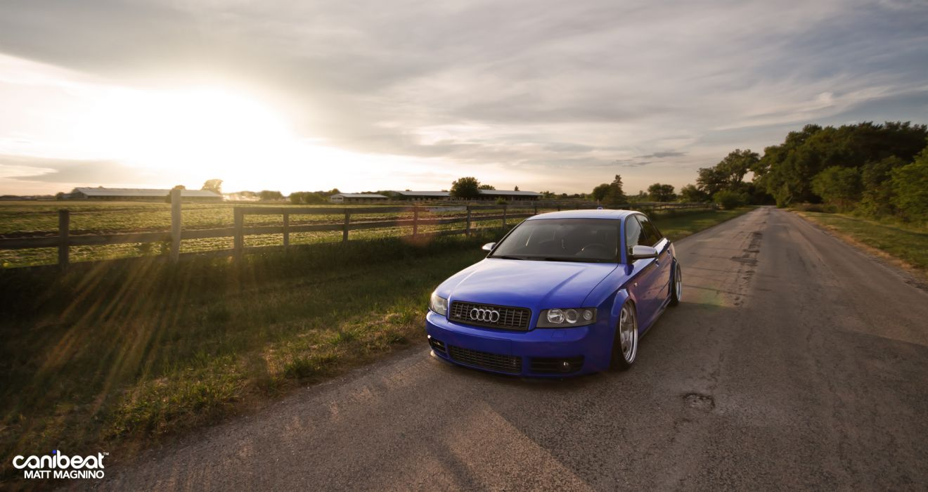Audi S-4 tuning stance q wallpaper