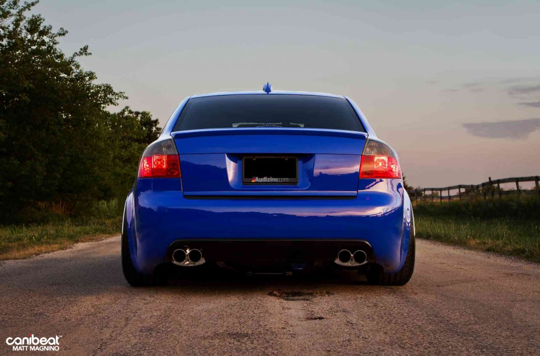 Audi S-4 tuning stance r wallpaper
