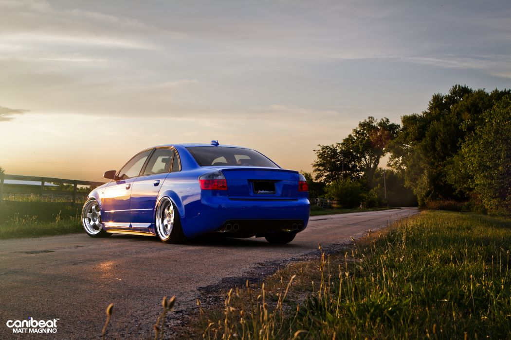 Audi S-4 tuning stance t wallpaper