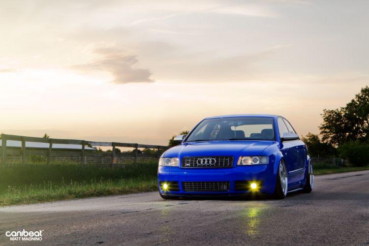 Audi S-4 tuning stance v wallpaper
