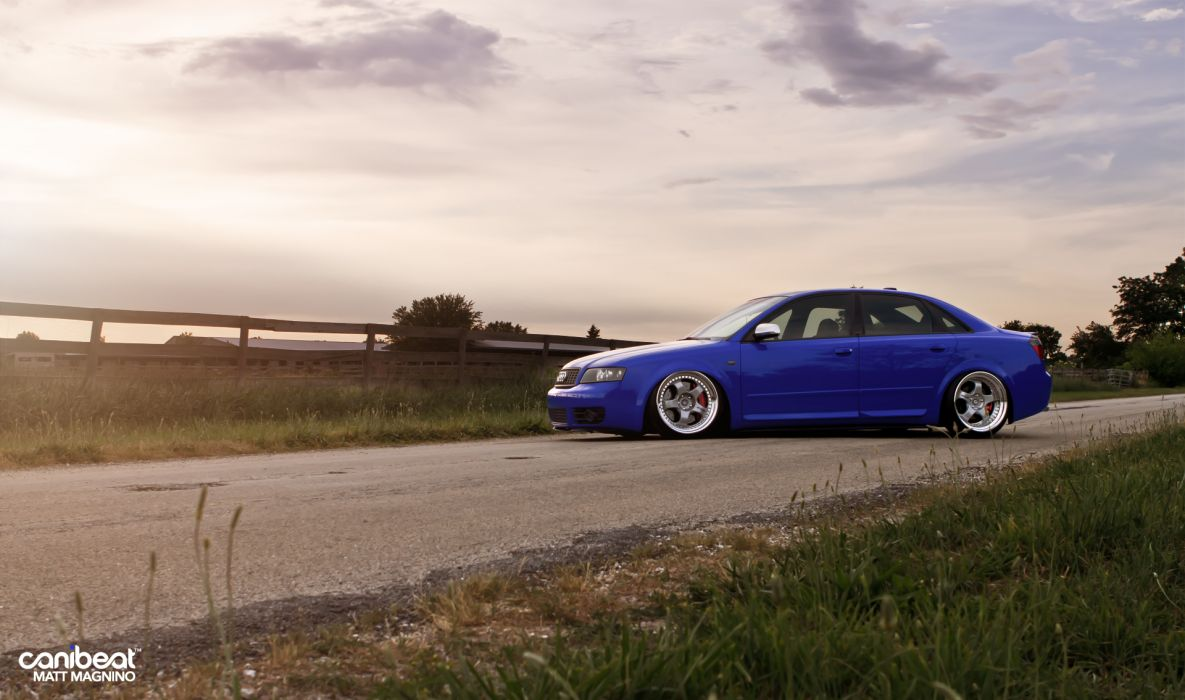 Audi S-4 tuning stance w wallpaper