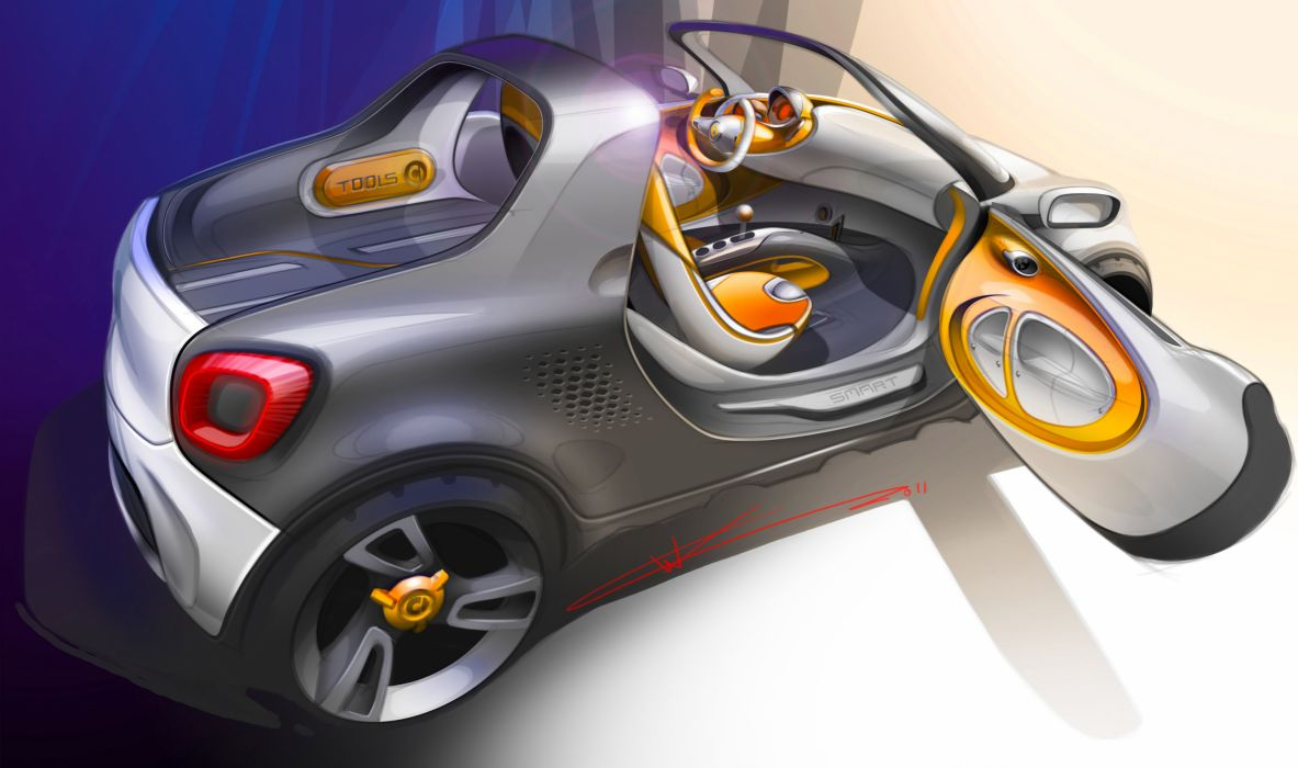 2012 Smart For-Us Concept s wallpaper