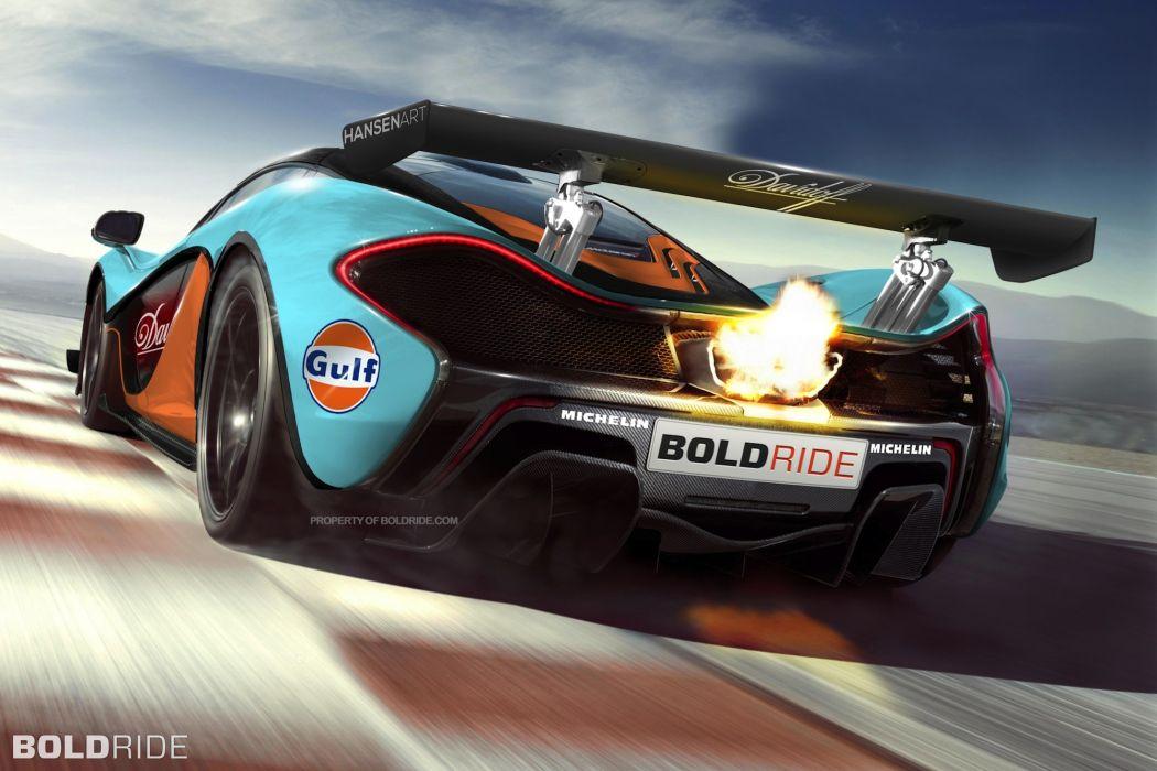 2014 McLaren P1 GTR Concept supercar supercars s wallpaper