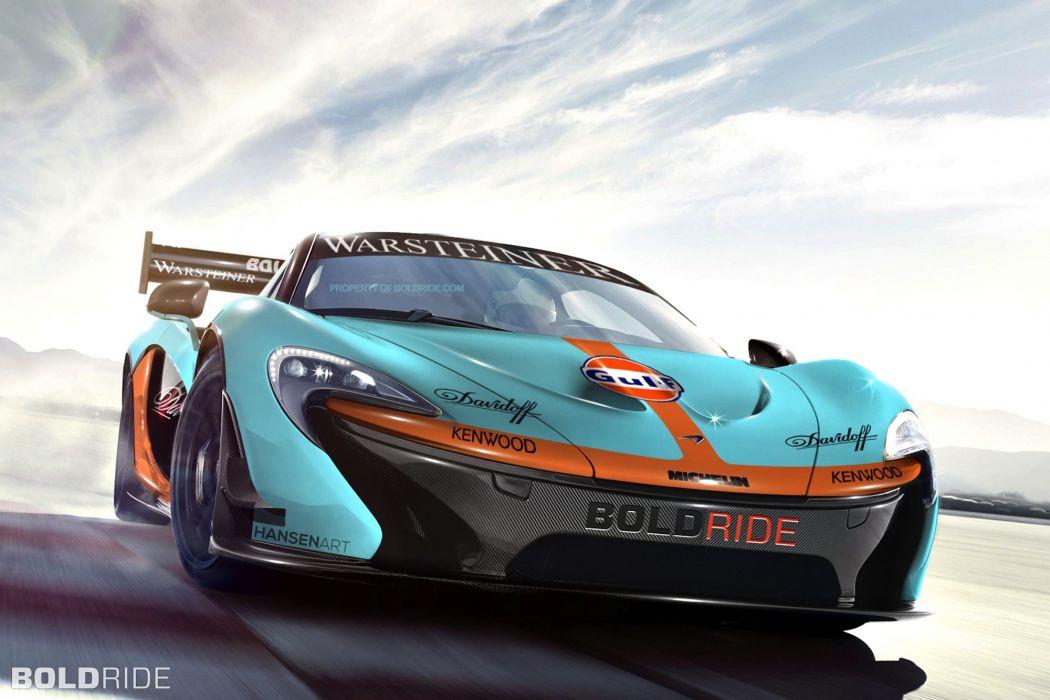 2014 McLaren P1 GTR Concept supercar supercars wallpaper