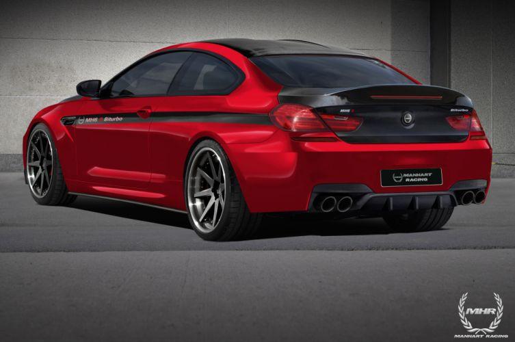2013 BMW 6-Series F12 MH6 S Bi-turbo 700HP tuning w wallpaper