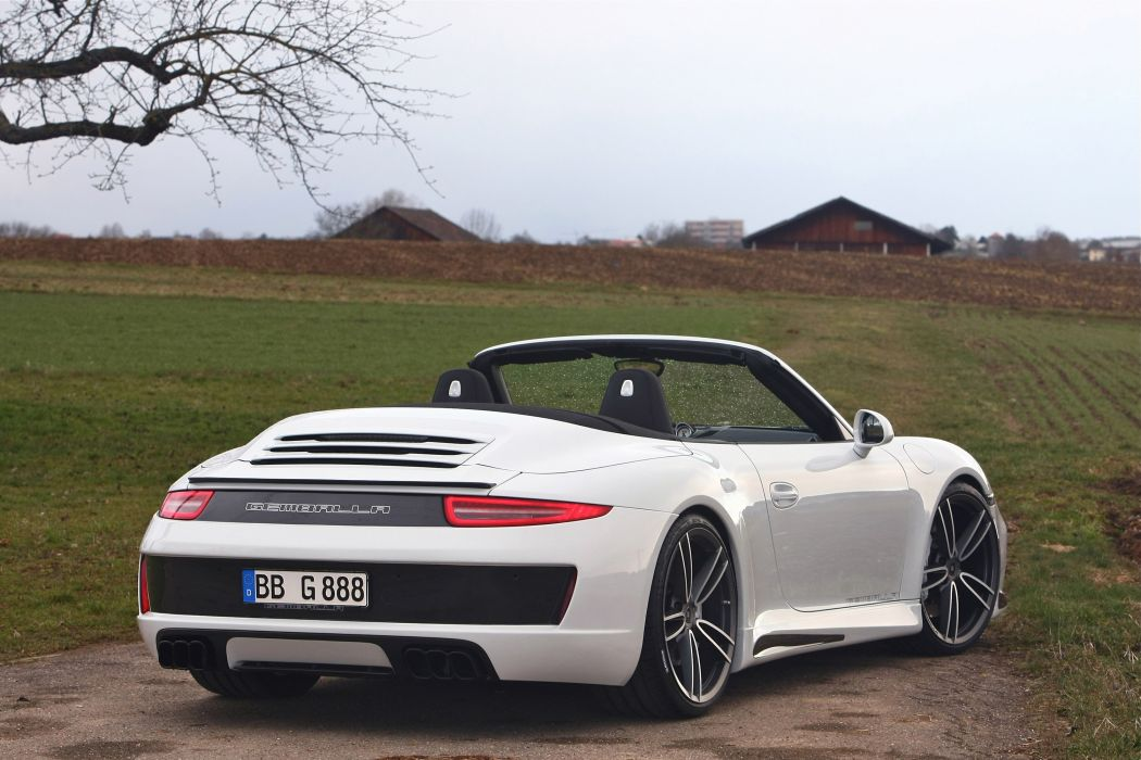 2013 Gemballa Porsche 991 Carrera S Convertible tuning t wallpaper